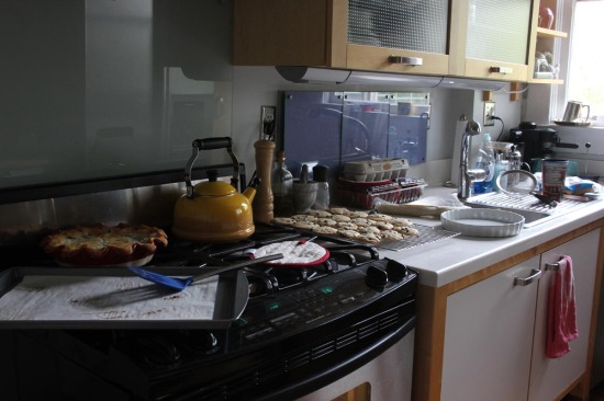 A Messy Kitchen