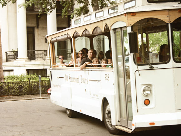 Bus tours in Savannah, Georgia