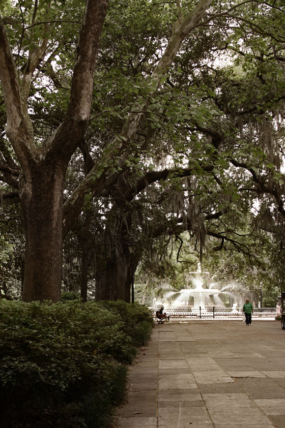 Forsythe Park in Savannah