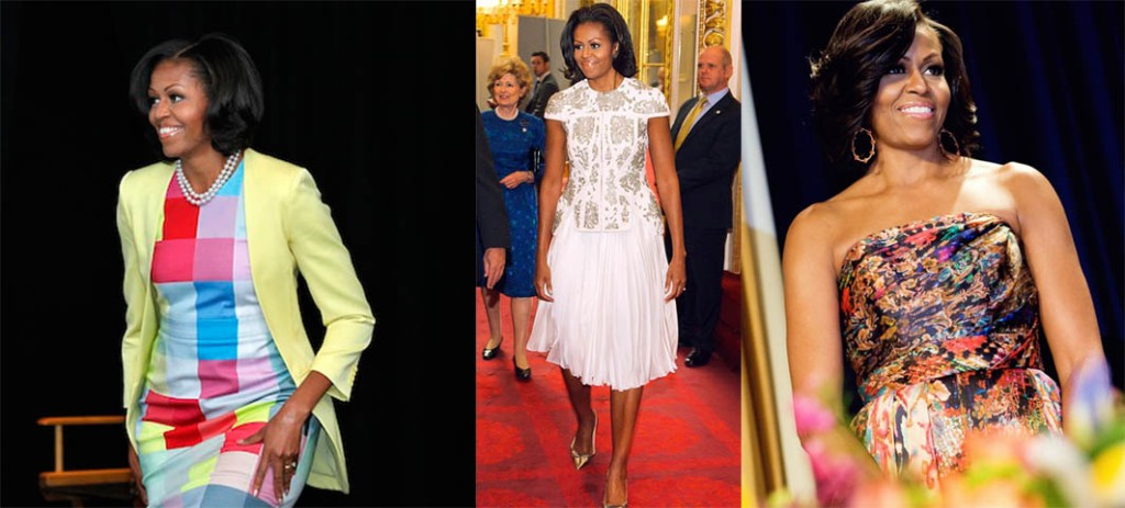 First Lady Michelle Obama collage