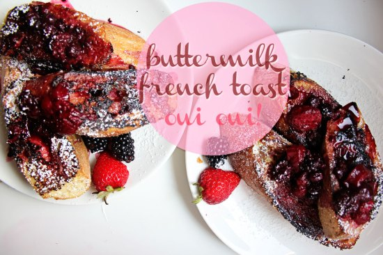 Buttermilk French Toast | A Saturday Morning Breakfast Idea